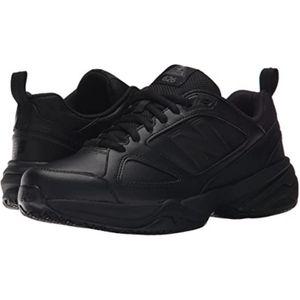 New Balance Womens 626v2 Slip Resistant Black, 7.5
